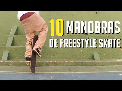 10 MANOBRAS DE FREESTYLE SKATE