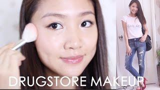 getlinkyoutube.com-🎃 [開架品牌] 夏天自然妝+ 休閒衣著 Natural Drugstore Makeup OOTD| Pumpkin Jenn🎃