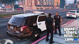 getlinkyoutube.com-GTA 5 PC MODS - LSPDFR - POLICE SIMULATOR - EP 19 (NO COMMENTARY) CITY PATROL