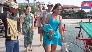 getlinkyoutube.com-Boat trip to Rong Sonleum Island in Cambodia