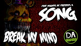 getlinkyoutube.com-FIVE NIGHTS AT FREDDY'S 4 SONG (BREAK MY MIND) LYRIC VIDEO - DAGames