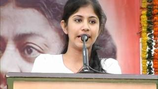 getlinkyoutube.com-Ms.Apoorva speaking on 11 January-National Youth Day celebrations 2012