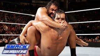 getlinkyoutube.com-The Great Khali vs. Rusev: SmackDown, Oct. 31, 2014