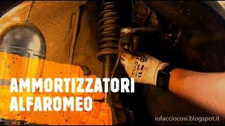 getlinkyoutube.com-Alfa Romeo 147-156-GT Come smontare le sospensioni ammortizzatori anteriori (quadrilatero)