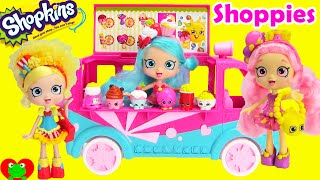 getlinkyoutube.com-Shopkins Shoppies Dolls and Playsets with Blind Baskets