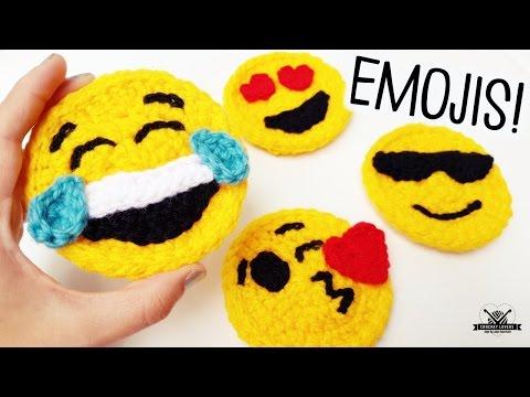 How to crochet EMOJIS ♥ CROCHET LOVERS