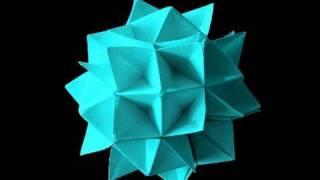 getlinkyoutube.com-How to make an Origami Spike Ball