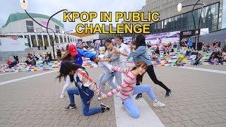 [EAST2WEST] Dancing Kpop in Public Challenge: BTS (방탄소년단) - DNA