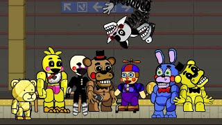 getlinkyoutube.com-Scribblenauts Unlimited 86 Five Nights at Freddy's 2 Animatronics in Object Editor