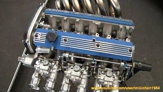 getlinkyoutube.com-ソレックス、タコ足!!トヨタ 6M型 3000cc DOHCエンジン - 名古屋ノスタルジックカーフェスティバル2015