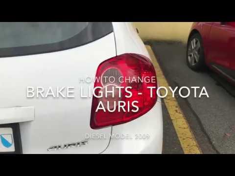 Toyota Auris - Changing Brake Lights