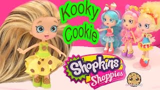 getlinkyoutube.com-DIY Custom Kooky Cookie SHOPPIES SHOPKINS Doll - How To Craft Do It Yourself Video Cookieswirlc