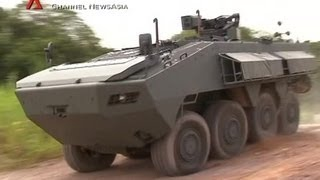 Channel NewsAsia - Making Of Terrex Infantry Carrier Vehicle Part 1 Of 2 [360p]