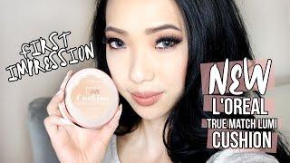 getlinkyoutube.com-L'Oréal True Match Lumi Cushion: First Impression Review