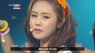 getlinkyoutube.com-Music Bank with Eng Lyrics | 뮤직뱅크 (2013.07.27)