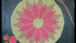 getlinkyoutube.com-Cómo tejer una mochila estilo wayuú part 1