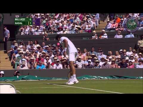 2015 Day 2 Highlights, Thomaz Bellucci vs Rafael Nadal