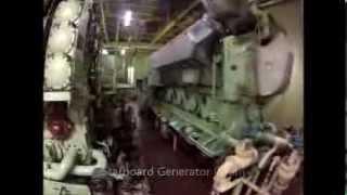 Maersk Ohio Engine Room