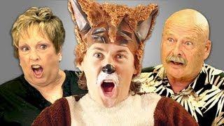 getlinkyoutube.com-ELDERS REACT TO YLVIS - THE FOX