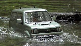 getlinkyoutube.com-NEW! Tamiya MF-01X Suzuki Jimny JB23 in Awesome Action!