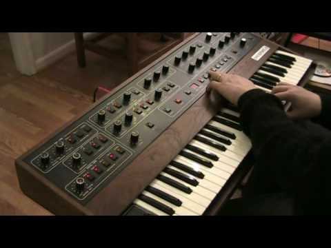 Sequential Circuits Prophet-5 video demo part 3 of 3