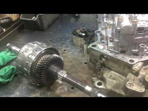 Ремонт АКПП Honda Civic SLXA Часть 1