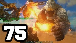 getlinkyoutube.com-MONOS CONTRA DRAGONES | ARK: Survival Evolved #75 Con Mods HD