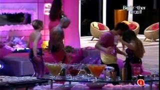getlinkyoutube.com-BBB11 - Festa Pink - Diana e Lucival