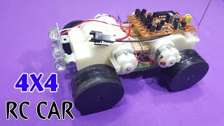 getlinkyoutube.com-How To Make A Mini RC Car 4x4