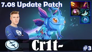 Crit - Puck MID   7.08 Update Patch   Dota 2 Pro MMR Gameplay #3