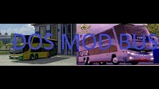 getlinkyoutube.com-2 Mod Bus/Marcopolo 1200 DD6X2 y marcopolo 1800 DD 8X2/Euro truck simulator/Skin mexico