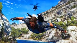 getlinkyoutube.com-Just Cause 3 - WINGSUIT, TANKS AND EXPLOSIONS!  (JC3)