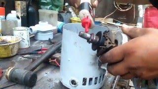getlinkyoutube.com-Reparación bomba agua centrifuga prueba sello mecánico The Power Seal