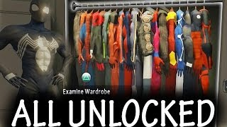 getlinkyoutube.com-The Amazing Spider-Man 2 - ALL Suits + DLC UNLOCKED [FULL]