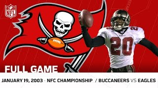 getlinkyoutube.com-Buccaneers vs. Eagles 2002 NFC Championship | NFL Full Game