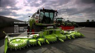 "CLAAS JAGUAR 980 - 930 ""The 30.000 Team"" / 2011"