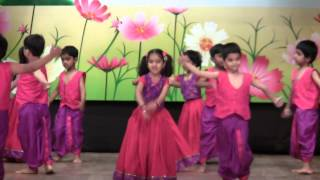 getlinkyoutube.com-AbhiRam's Lagaan Dance - Euro Kids Annual Day 2013