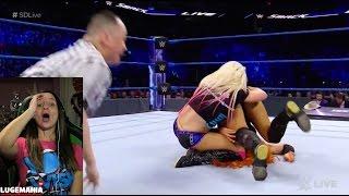 getlinkyoutube.com-WWE Smackdown 2/21/17 Becky Lynch vs Alexa Bliss Women's Championship