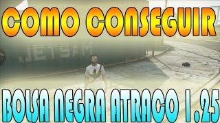 GTA V ONLINE GLIHT (COMO CONSEGUIR BOLSA DE LOS ATRACOS)GTA 5 online