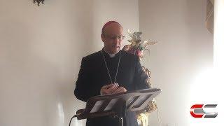 Patti - Gli auguri natalizi alla Diocesi del Vescovo Mons. Guglielmo G... - www.canalesicilia.it