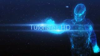 getlinkyoutube.com-Intro Iron man holograma - Plantilla editable After Effects (HD)