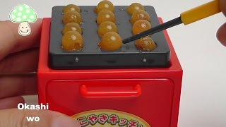 getlinkyoutube.com-Takoyaki Gummy Candy BANDAI バンダイ たこやきキッチン.グミ