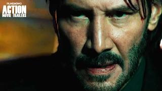 getlinkyoutube.com-John Wick: Chapter 2 ft. Keanu Reeves | Car Chase Clip
