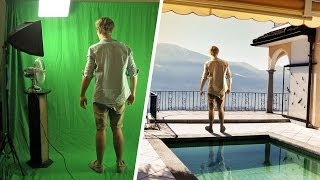 Green Screen Test - The Balcony (VFX Breakdown)