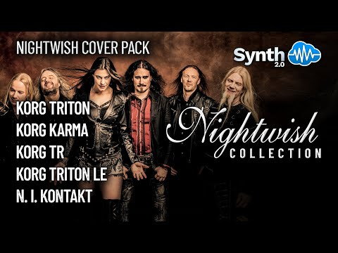 S4K Night Wish collection on Korg Workstation: triton karma le tr x50 M50 M3 ( Space4keys )