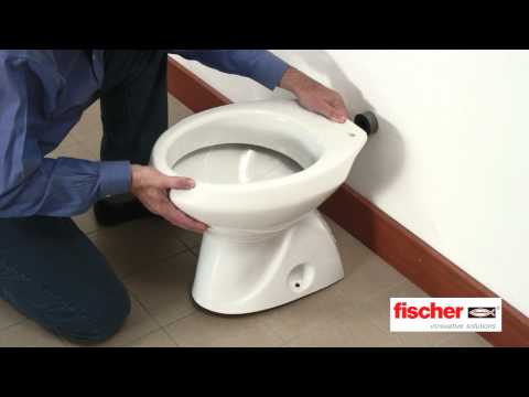 fischer Ready to Fix - Kit di fissaggio per sanitari