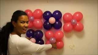 getlinkyoutube.com-pared en globos paso a paso