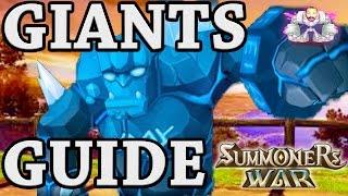 Summoners War: ULTIMATE GIANTS B1,B2,B3,B4,B5,B6,B7,B8,Skip B9,B10 Guide