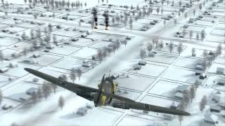getlinkyoutube.com-IL2 Battle of Stalingrad Early Access: BF109 Bombs Away!