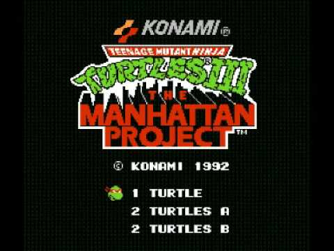 Teenage Mutant Ninja Turtles III - The Manhattan Project (NES) Music - Scene 7 Part 1